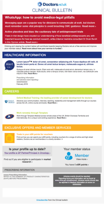 Clinical bulletin preview